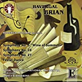 Brian: Symphonies Nos. 5, 19 & 27