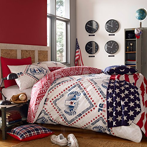american-freshman-single-52-percent-polyester-48-percent-cotton-cooper-bed-set-navy