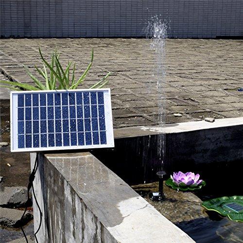 Solar-Brunnen 12V 5W bürstenlose DC-Wasserpumpe