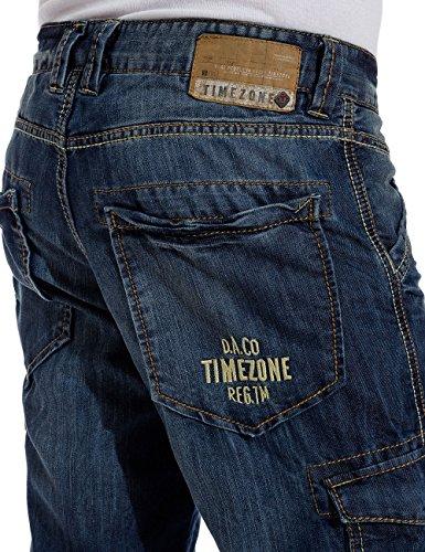 Timezone Herren Shorts DamiroTZ Blau (indigo water 3629)
