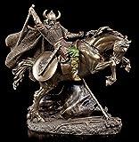 Vikingo Figura grande a caballo en la lucha–Veronese