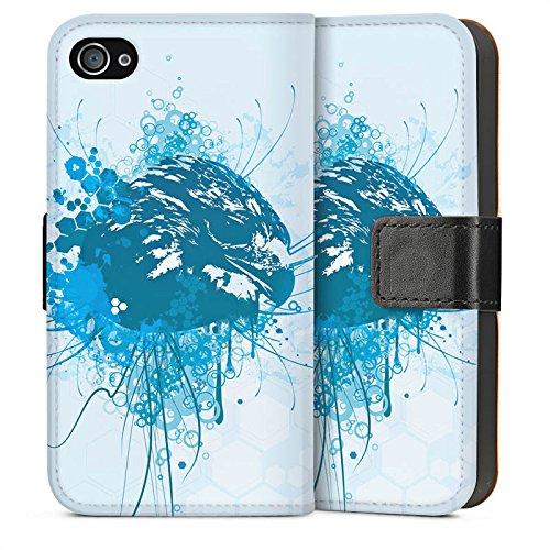 Apple iPhone 6 Housse Étui Silicone Coque Protection Aigle Aigle Griffon Sideflip Sac