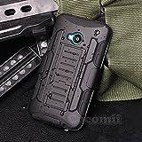 HTC One M7 Case, Cocomii® [HEAVY DUTY] HTC One M7 Robot Case **NEW** [ULTRA FUTURE ARMOR] Premium Belt Clip Holster Kickstand Bumper Case [MILITARY DEFENDER] Full-body Rugged Dual Layer Hybrid Protective Cover Bumper Case [COCOMII WARRANTY] ::: The Ultima