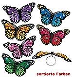 FASCHING 81061 Schmetterling-Ring Fingerring sortiert NEU/OVP