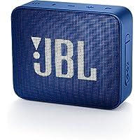 JBL Go 2 Portable Waterproof Bluetooth Speaker with mic (Blue)