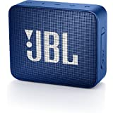 JBL Go 2 Portable Waterproof Bluetooth Speaker with mic (Blue)