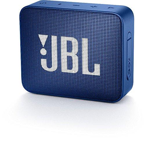 JBL GO2 Tragbarer Bluetooth-Lautsprecher, blau