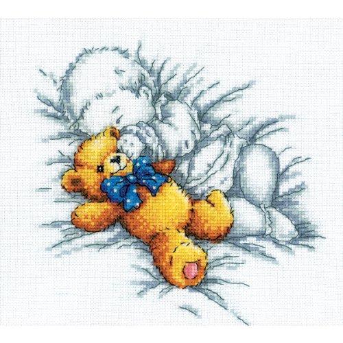 RTO RTM156 Set für Kreuzstich-Zählmuster, Motiv: Süße Träume, 18x20cm (Kreuzstich-träume)