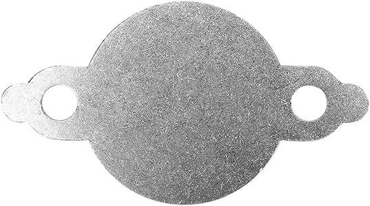 Blindplatte AGR-Ventil Blindplatte Passend f/ür D40 YD25 Common Rail 2.5L Euro 4 06-11
