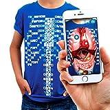Curiscope Virtuali-Tee | Lehrreiches Augmented-Reality-T-Shirt | Erwachsene S
