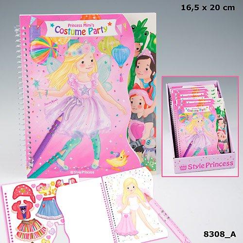 Depesche 8308 My Style Princess Kostüm Party Malbuch