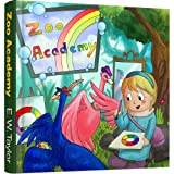 Bunte Welt mit Picasso und Lucy / Picasso & Lucy's Colorful World - Teil/Vol. 3 (Zoo Academy - Bilingual German/English)