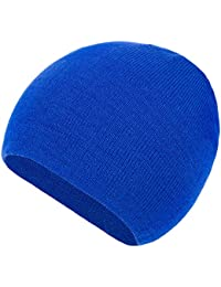 4sold Unisex 100% Soft Feel Plain Knitted Beenie Hat - 20 Colours Available