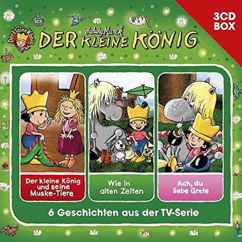 Der Kleine König-3-CD Hörspielbox Vol. 3 (Hörspielboxen) -