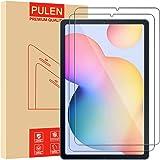 PULEN [2 Pack] Pellicola Protettiva per Samsung Galaxy Tab S6 Lite 10.4 Inch, in Vetro temperato di Alta qualità [Senza Bolle