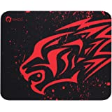 EXCOVIP Gaming Mouse Pad Thick Non-Slip Rubber Base Comfortable Mouse Pad Smooth Surface Keyboard Mouse Pads for Computers Bl