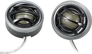 Kkmoon 2 150w Auto Lautsprecher Micro Dome Audio Tweeter Mit Eingebautem Crossover Ein Paar Auto