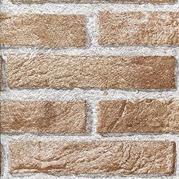 Plastica adesiva effetto finto mattone muro rivestimento for Carta muro lavabile adesiva