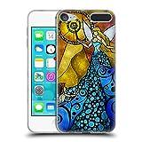 Head Case Designs Offizielle Mandie Manzano Blau Feen Soft Gel Hülle für Apple iPod Touch 6G 6th Gen