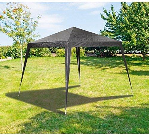 Maxx 3x 3m tendone gazebo da giardino tenda impermeabile birreria struttura in acciaio con aste in acciaio extra spesso camping spiaggia antracite