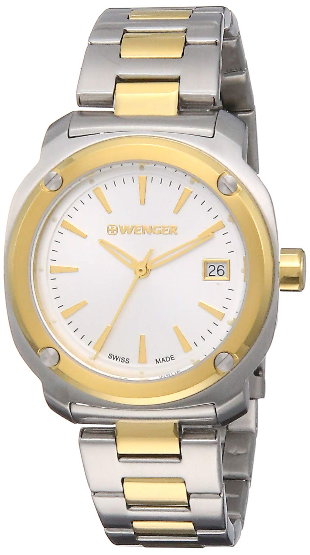 Wenger Women's Analogue Quartz Watch with Stainless Steel Strap 01.1121.106