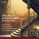 Flemish Connection V, Arthur de Greef, Orchestral Works