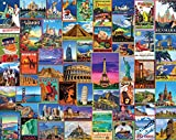 White Mountain Puzzles 1272 Best Places in The World - Jigsaw-Puzzle 1000 Teile