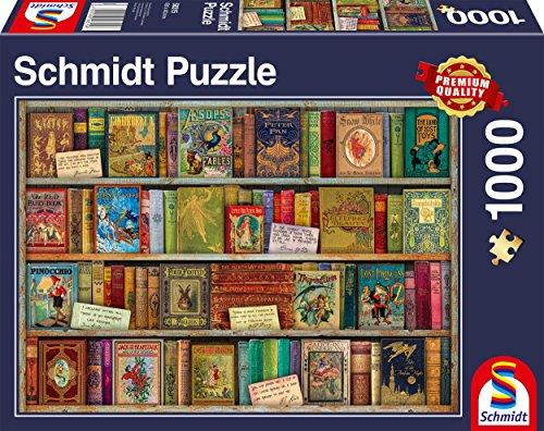 Schmidt Spiele Puzzle 58315 Märchenbücher, 1000 Teile