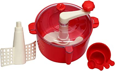 Olypex One Stop Shop Atta Dough Maker with Beater Chop & Churn 3 in 1 (Color May Vary)