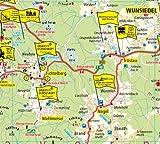 Fichtelgebirge und Frankenwald: Erlebnisführer mit Informationen zu Freizeiteinrichtungen auf der Kartenrückseite, wetterfest, reißfest, abwischbar, GPS-genau - 1:120000 (Erlebnisführer / EF) -