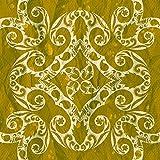 murando - Vlies Tapete - Deko Panel Fototapete - Wandtapete - Wand Deko - 10 m Tapetenrolle - Mustertapete - Wandtapete - modern design - Dekoration - Muster Orient Ornament f-A-0134-j-d