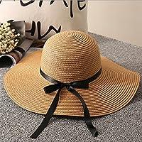 Unicoco Sombrero Playa ala Ancha Sol Verano Gorra Regalos Madres Amigas Sombrero Paja