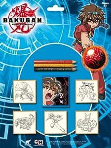 BAKUGAN Multiprint 5857 Tampones para estampar (5 unidades)