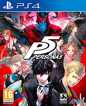 Persona 5 SteelBook Launch Edition (PS4)