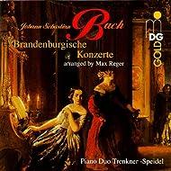 Bach: Brandenburg Concertos [Arranged for Piano 4 Hands]