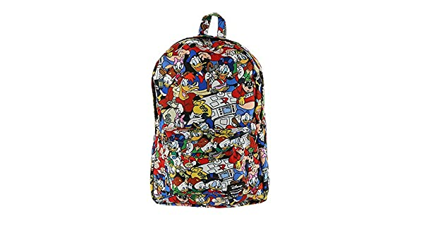 b5d43f2dbb Loungefly Disney Ducktales AOP Backpack  Amazon.co.uk  Luggage