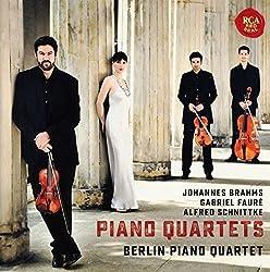 Brahms, Fauré & Schnittke Piano Quartets