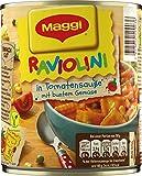 Maggi Raviolini in Tomatensauce Gemüse, 6er Pack (6 x 800 g Dose)