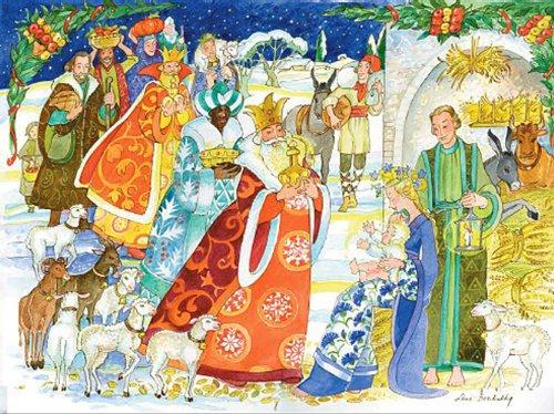 Calendrier de l Avent Noël de Joie Berchadsky