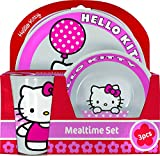 BBS Hello Kitty Melamin 3 St?ck Fr?hst?cks-Set