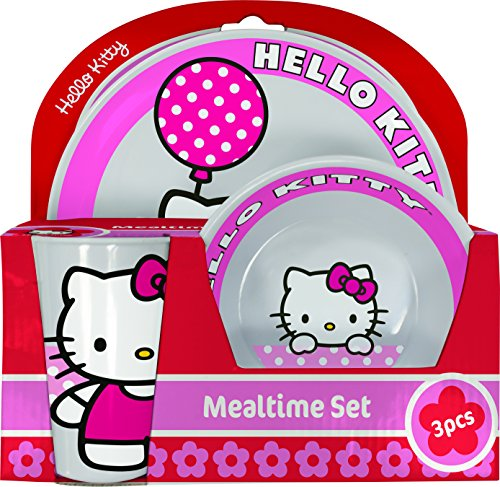 BBS Hello Kitty Melamin 3 St?ck Fr?HST?CKS-Set -