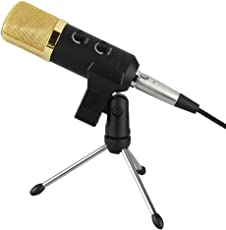 Generic Condenser Sound Studio Recording Microphone Dynamic Mic With Stand H