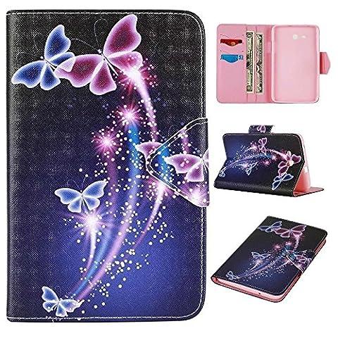 Skytar Galaxy Tab 3 Lite 7 Zoll Hülle,Schutzhülle für Tab3 7.0 Lite - Bookstyle Stand Case Cover in PU Leder Hülle für Samsung Galaxy Tab 3 7.0 Lite (SM-T110 / T111 / T113 / T116) Tablet Tasche Schutzhülle
