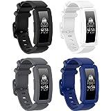 Vozehui kompatibel med Fitbit Ace 2 armband för barn 6+, mjukt silikonarmband tillbehör klockarmband repalcement armband, fär