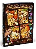 Schipper 609340702 - Malen nach Zahlen - Weihnachtsbäckerei (Quattro), 18 x 24 cm