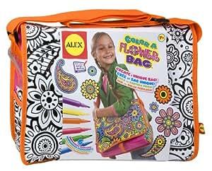 Alex Toys Color a Flower Bag