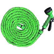Flexibler Gartenschlauch | geringes Gewicht & platzsparende Aufbewahrung | inkl. Brause mit 7 Funktionen | drei Längen wählbar (22,5m)