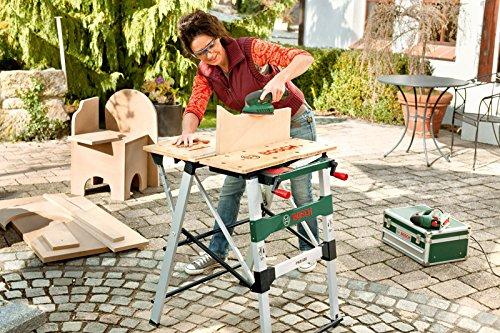 Bosch Arbeitstisch (mit 4x Spannbacken, Karton, max. Tragfähigkeit: 200 kg) PWB 600 - 5