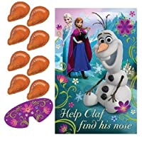 Disney-Eisknigin-Olaf-Stift-Nase-Party-Spiel