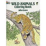 Wild Animals Colouring Book (Dover Nature Coloring Book)